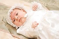 Крестильный комплект для новорожденного по доступной цене
