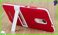 Дизайнерский чехол, бампер для Xiaomi redmi note 3 / note 3 pro (красный)