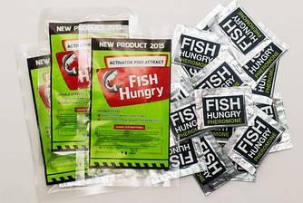 Активатор клева FishHungry в пакете ( Голодная рыба ) приманка