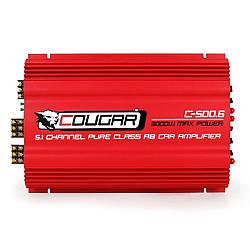 Автомобильный усилитель CAR AMP 500.6 Фирменный усилитель Cougar