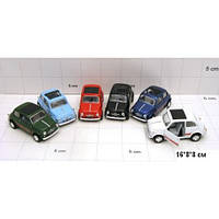 "Модель легковая 5"" FIAT 500 KT5004W"