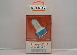 Автомобильная USB зарядка 3IN1