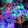 Новогодняя многоцветная гирлянда LED 200 M ( 200 светодиодов ) светодиодная, фото 3