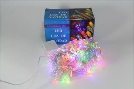 Новогодняя многоцветная светодиодная гирлянда LED 300 M RGB COLOR ( 300 светодиодов )