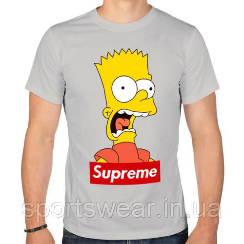"""Футболка Supreme Bart Simson   Футболка Суприм """""""" В стиле Supreme """""""""""