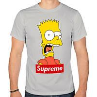 Мужская футболка Supreme Bart Simson