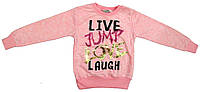"""Водолазка для девочек с надписью """"Live, Jump, Love, Laugh"""""""" 2-4-6-8 лет."""