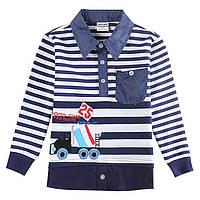 """Детская рубашка-обманка """"Поло"""" для мальчика"""