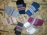 Женские перчатки из ангорки