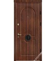 Входные стальные двери ТМ Страж Модель 54 Винорит тёмный дуб Мультлок