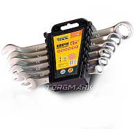 Ключи рожково-накидные набор  6 шт(8,10,13,14,15,17) MasterTool