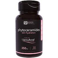 Фитокерамиды Sports Research с липосомами из пшеницы Lipowheat®, 350 мл (30 капсул)