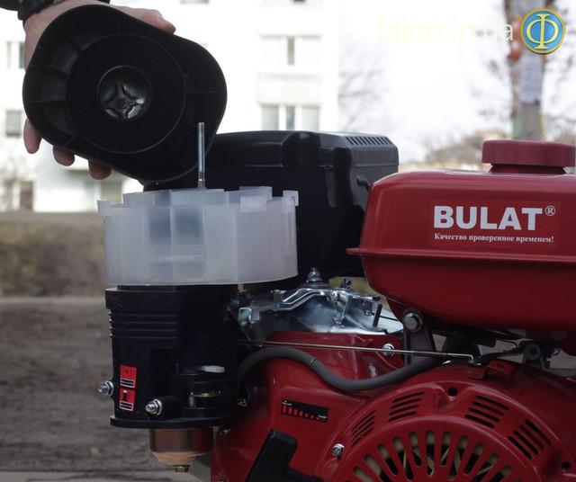 Бензиновый мотор 16 л.с. Булат 190 FS фото воздушный фильтр