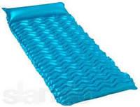 Пляжный надувной одноместный матрас intex 58807 Волны 229x86 см