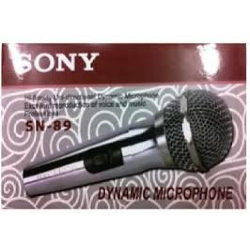 Ручной проводной микрофон SONY SN-89