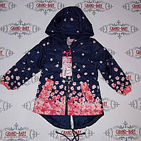 Куртка на девочку  весна в цветы GRACE