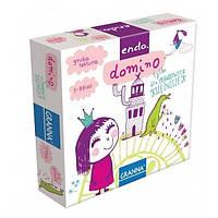 Настольная развивающая игра Домино Для настоящих принцесс Для справжніх принцес Granna 3+ 2-4 игроков