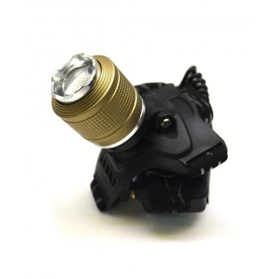 Фонарик налобный Bailong BL-2199-T6 фонарь на голову, мощный светодиодный