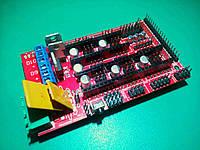 Плата расширения ЧПУ Arduino Mega RAMPS 1.4, фото 1