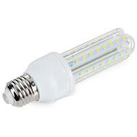 Светодиодная LED лампочка UKC E27 12W 3U лампа длинная U-образная 4020
