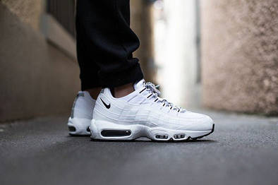 "Мужские кроссовки Nike Wmns Air Max 95 QS ""White/Black"""
