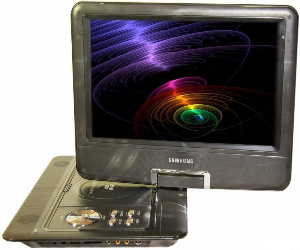 """Портативный DVD плеер 18"""" +USB+Game+TV 1889"""