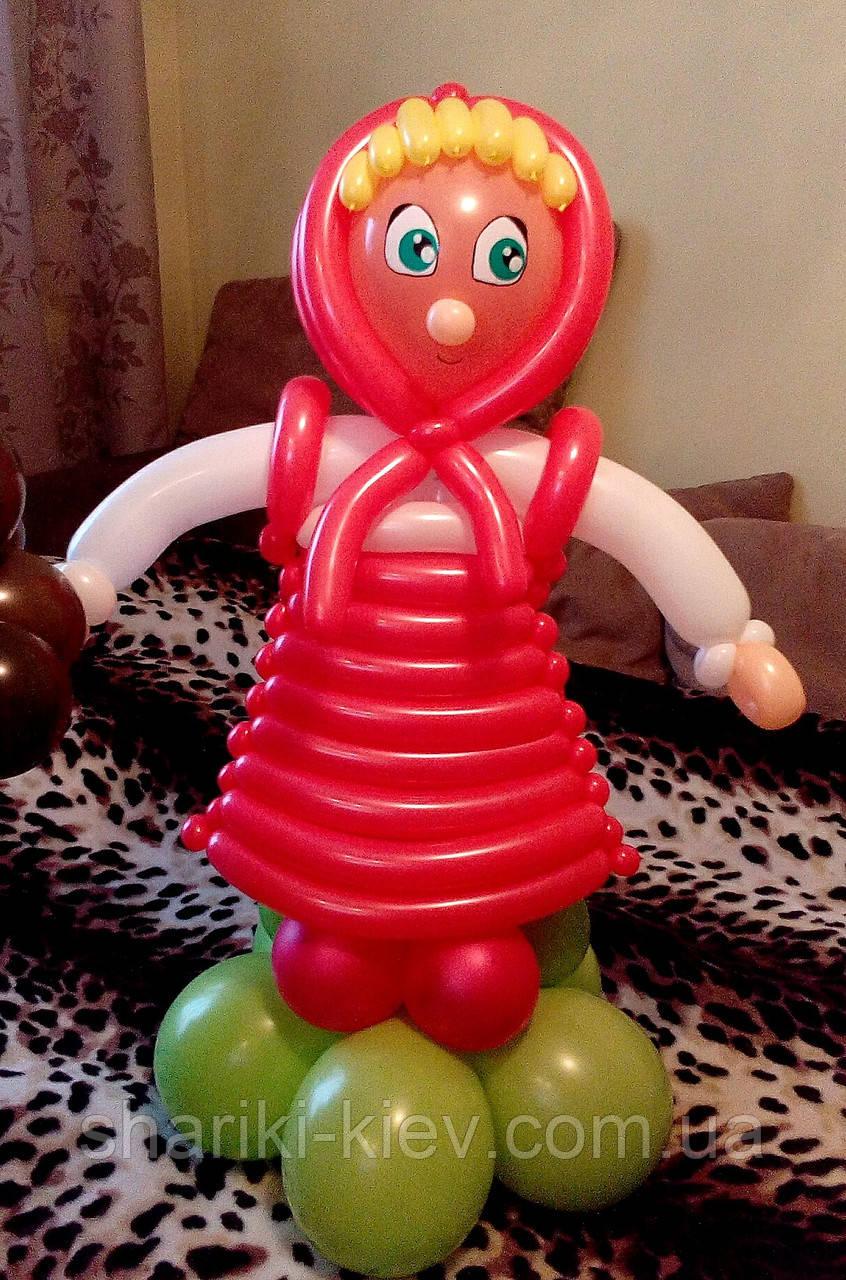 Маша из шариков на День Рождения