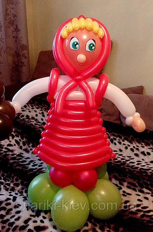 Маша из шариков на День Рождения, фото 2