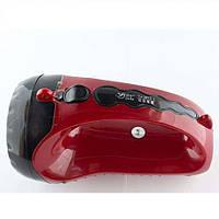 Ручной фонарь светодиодный Yajia YJ 2817 аккумуляторный фонарик 1WATTLED бытовой