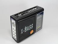 Радио с led фонариком Galon RX-177Led встроенный аккумулятор MP3 USB SD