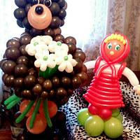 Миша и Маша из шаров