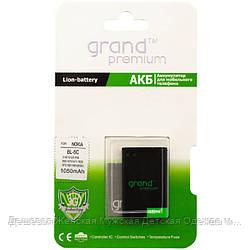 АКБ Nokia BL-5C GRAND Premium 1050 mAh для 1100, 1110 AAAA/Original