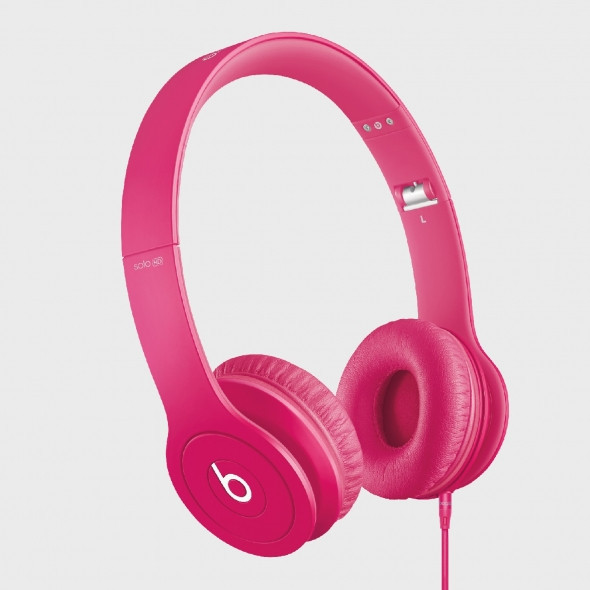 Наушники Monster Beats by Dr.Dre Solo HD Pink c062c45e5cd15