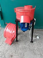 Измельчитель для сухой и мокрой травы с двигателем