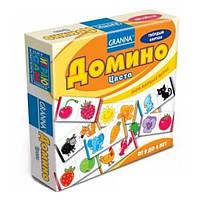 Настольная развивающая игра Домино Цвета Кольори Granna 2+ от 1 игрока