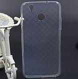 Силиконовый оригинальный чехол Oukitel U7 Plus / Есть стекло, фото 4