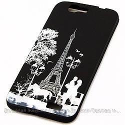 Чехол силиконовый для Huawei G7 Paris