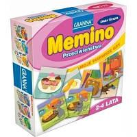 Настольная развивающая игра Мемино Меміно Granna 7+ 2-4 игроков