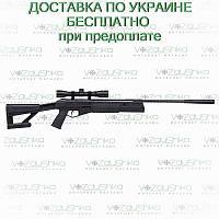 Пневматическая винтовка Crosman Fury II Blackout  RM с прицелом 4х32, фото 1