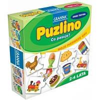 Настольная развивающая игра Пузлино Пузліно Granna 2+ от 1-4 игроков