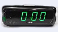 Электронные настольные часы VST 738 будильник с отсрочкой сетевые циферблат с подсветкой