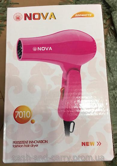 Фен для волос Nova 7010 фен для высушивания волос
