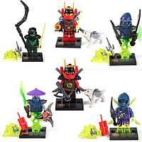 НИНДЗЯГО Призраки фигурки Игрушки NinjaGo Аналог LEGO