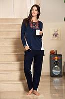 Комплект женский с брюками для дома