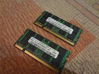 Оперативная память DDR2 Samsung 1Gb для ноутбука M470T2953EZ3-CE6
