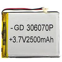 Внутренний Аккумулятор 03*60*70 (2000mAh 3,7V) AAA класс