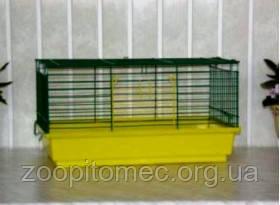Клетка для морских свинок, кроликов СТ Свинка-макси клетка 47х28х24см