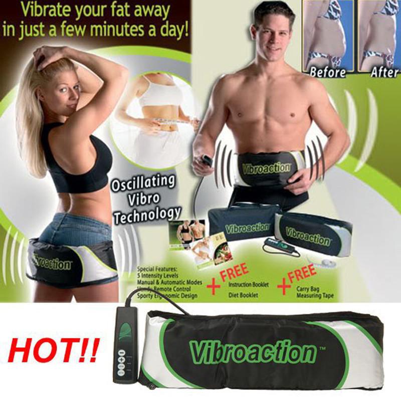Вибрационный пояс для похудения Vibroaction антицелюлитный пояс Виброэкшн 540