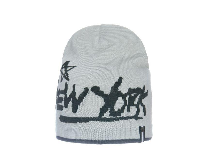 """Детская модная классная шапочка с надписью  """"New York"""", Польша"""