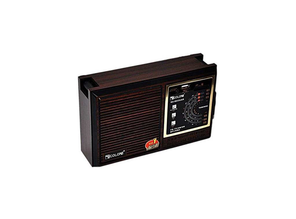 Радио Golon RX-9933UAR (USB+SD) переносное на аккумуляторе